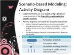 scenario based modeling activity diagram