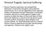 personal tragedy spiritual suffering