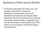 significance of helen and the old man