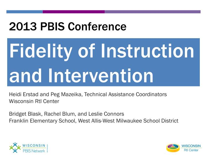 2013 pbis conference n.