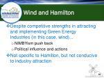 wind and hamilton