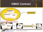 cmgc contract