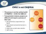 cmgc is not cm@risk