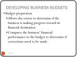 developing business budgets2