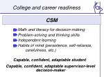 college and career readiness1