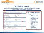 position data2