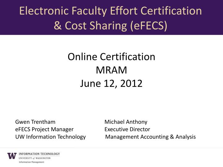 online certification mram june 12 2012 n.