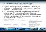 4 3 process related knowledge