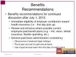 benefits recommendations2