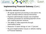 implementing financial gateway cont2