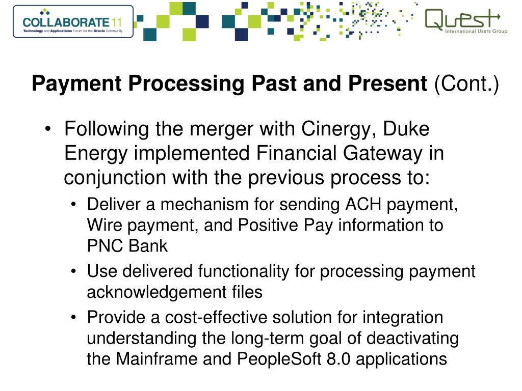 PPT - PeopleSoft Financial Gateway: Duke Energy's Story