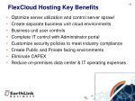 flexcloud hosting key benefits
