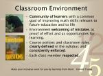 classroom environment