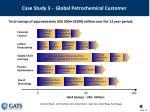 case study 3 global petrochemical customer