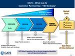 gats what we do customer partnership 3d strategy