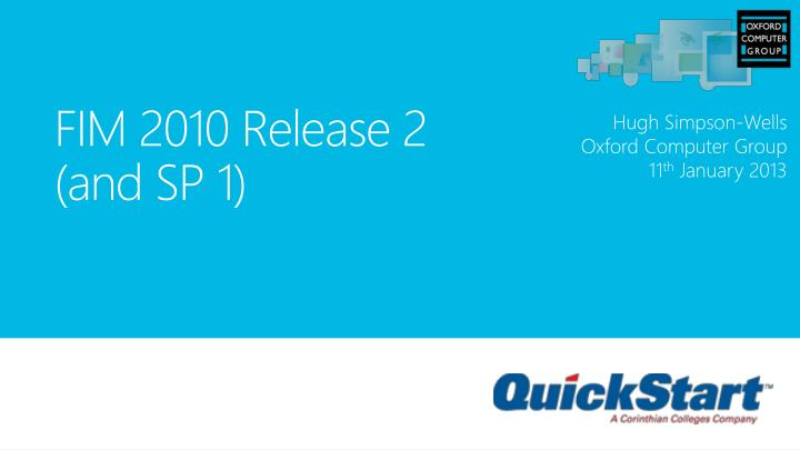 fim 2010 release 2 and sp 1 n.