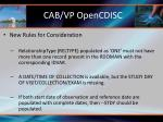 cab vp opencdisc4
