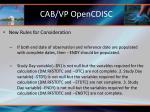 cab vp opencdisc5