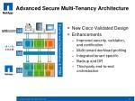 advanced secure multi tenancy architecture