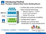 introducing flexpod presized validated data center building blocks