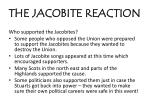 the jacobite reaction1