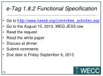e tag 1 8 2 functional specification8