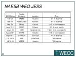 naesb weq jess1