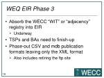 weq eir phase 3