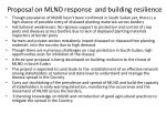 proposal on mlnd response and building resilience
