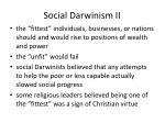 social darwinism ii