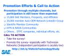 promotion efforts call to action