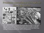 problems associated with sprawl the ugly factor