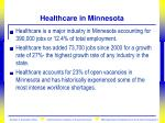 healthcare in minnesota