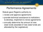 performance agreements1