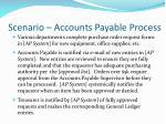 scenario accounts payable process