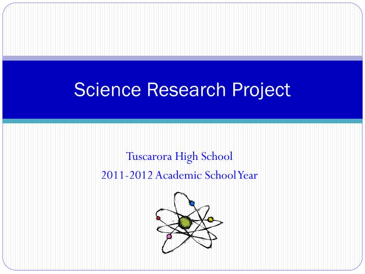 science research project n.