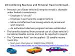 2 combining business and personal travel continued1