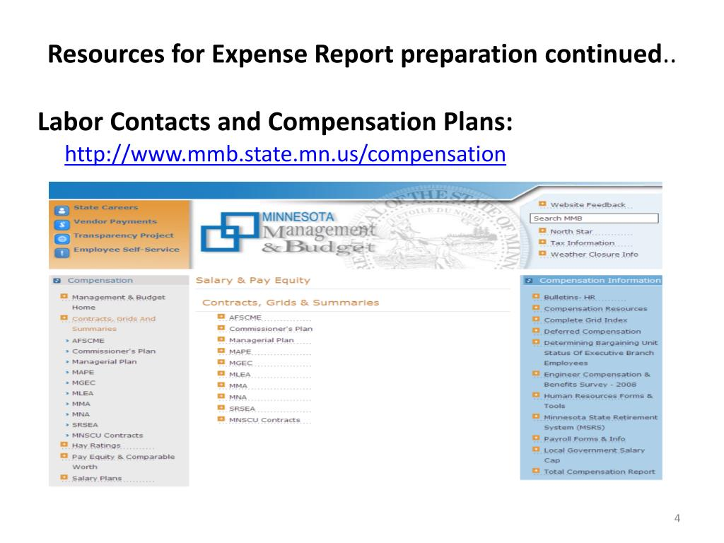 PPT - Employee Expense report refresher PowerPoint