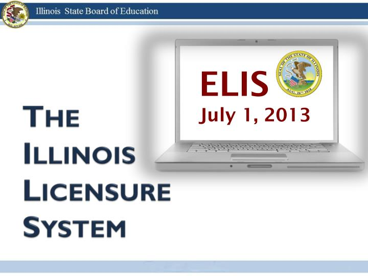 the illinois licensure system n.