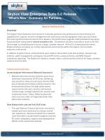 skybox view enterprise suite 6 0 release what s new summary for partners