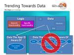 trending towards data