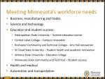 meeting minnesota s workforce needs3