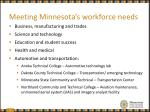 meeting minnesota s workforce needs5