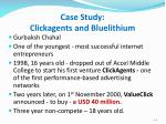 case study clickagents and bluelithium