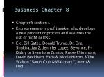 business chapter 8