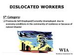 dislocated workers5