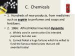 c chemicals