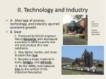 ii technology and industry