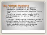 the virtual machine
