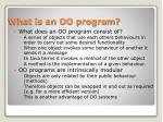 what is an oo program